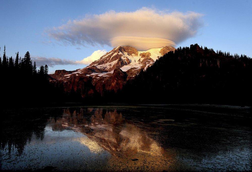 "The Chronicle  // Visit Rainier GeoTour    ""Mount Rainier Geocache Tour Celebrates 100 Years of National Parks"""