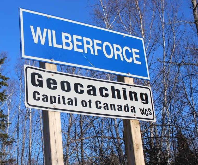 "Vice / /  Geocaching Capital of Canada GeoTour    ""The original treasure hunt game can make the town come back to life? (localized)"