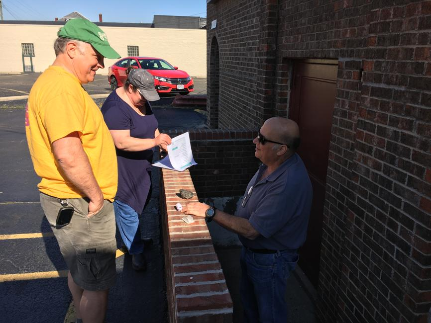 """Journal-News  // Butler County Donut Trail GeoTour    """"Game brings thousands to Butler County seeking doughnuts, adventure"""""""