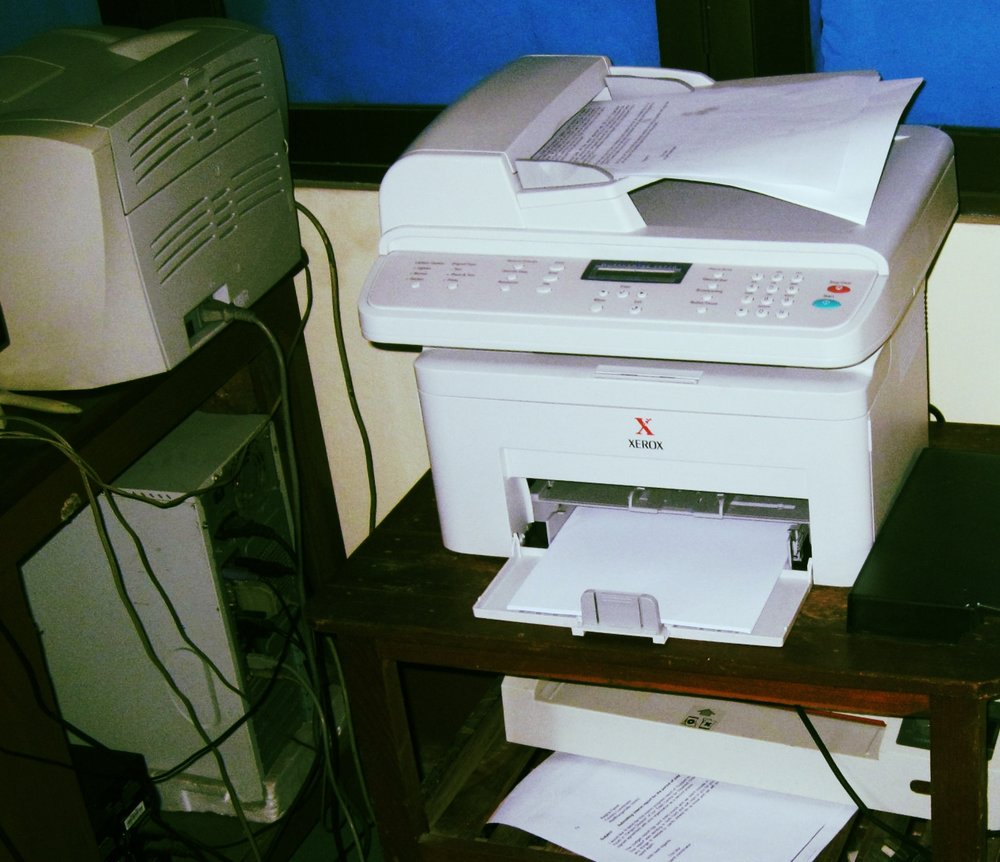 The copy machine that started it all