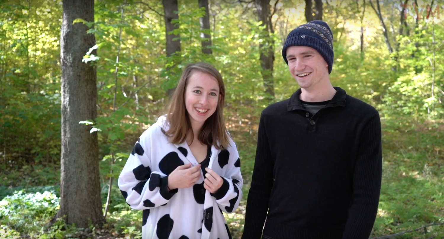 Into the Woods: Meet the Cast (Claire and Matt)