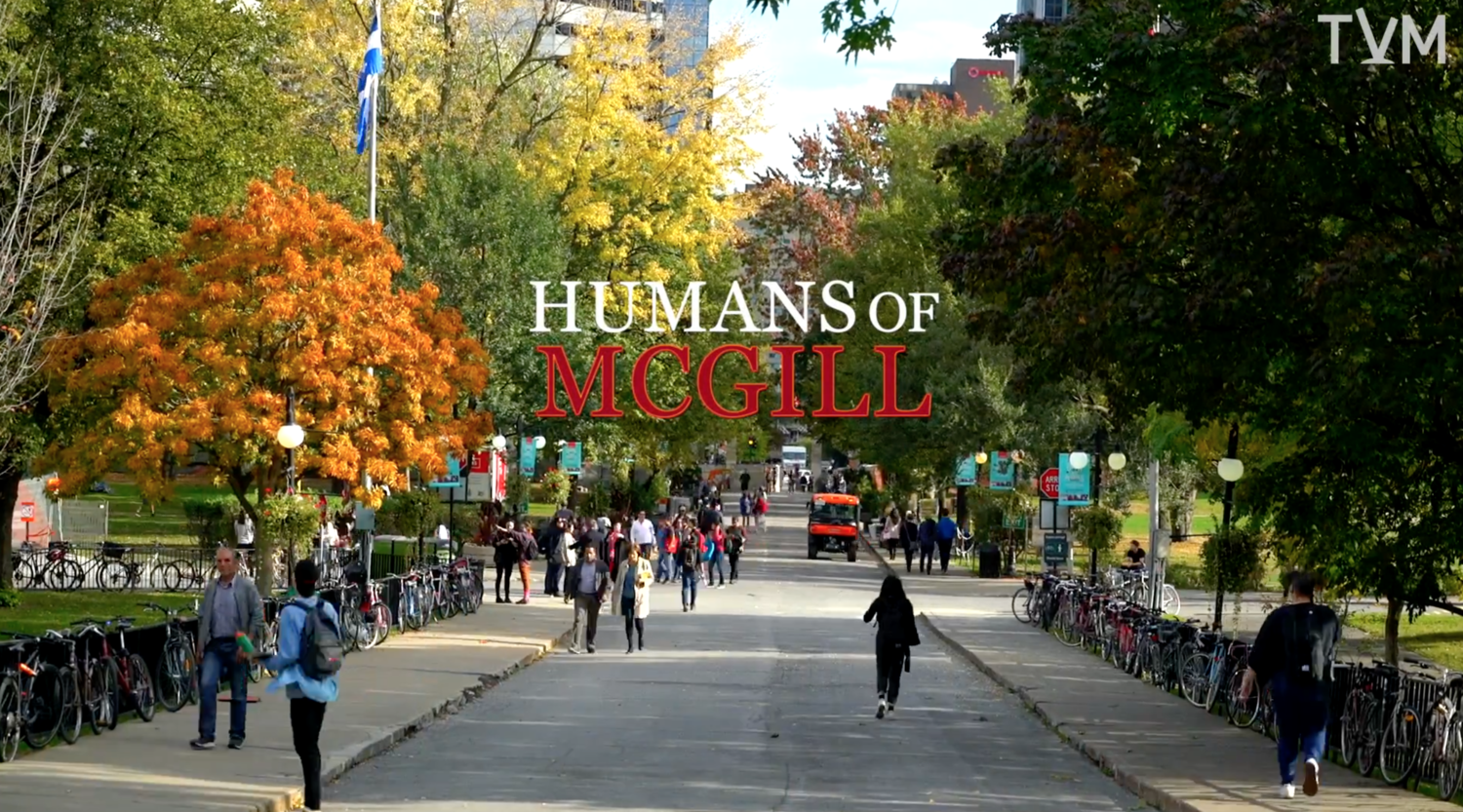 Humans of McGill
