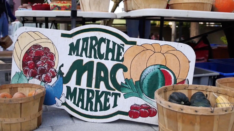 Healthy Eating at McGill : Farmer's Market