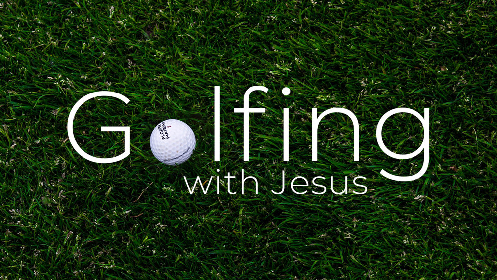 """Many people are firm believers that God is in control of everything… until they go golfing. While God may in fact know everything there is to know about golf, and even want us to learn to master the sport, he does not ultimately control our swing or the resulting trajectory of the ball. He will always, however, without judgement or condemnation, say to you """"Let's go find the ball."""""""