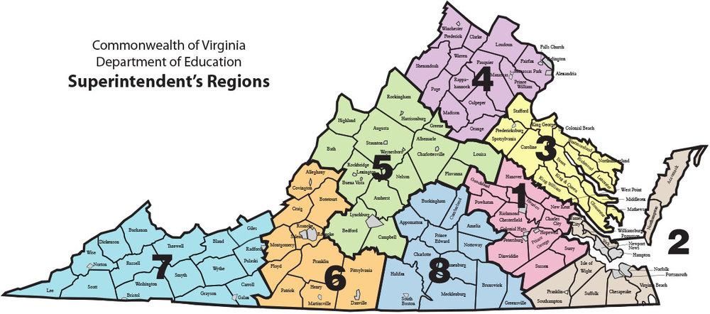 Regions Vaspa
