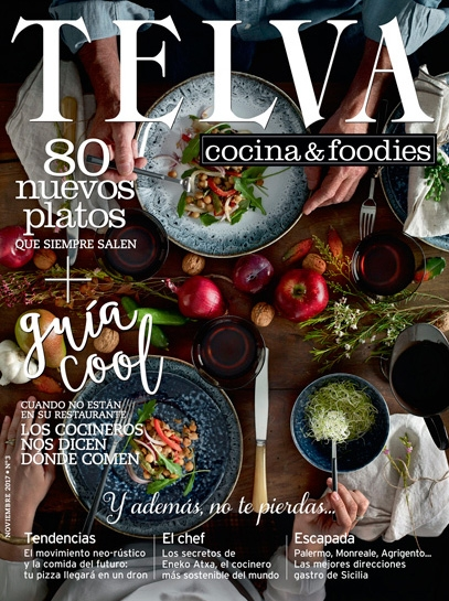 Portada Revista TELVA FOODIES