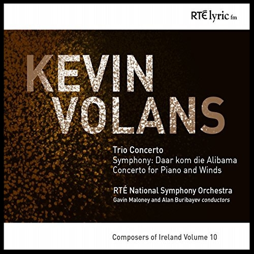 <b>2014</b><br>KEVIN VOLANS<br><i> Concerto for Piano and Winds</i><br><small> Lyric fm label</small>
