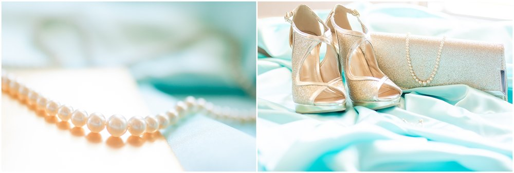 The beautiful details for this prom were amazing with gold shoes, lots of sparkles, and pearls.