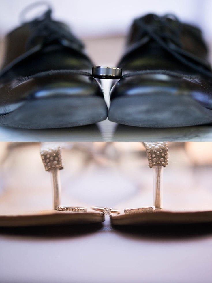 2018-06-19_0014.jpgBeautiful shots of the engagement and wedding bands on the bride's sandals, and the groom's wedding band on his loafers.