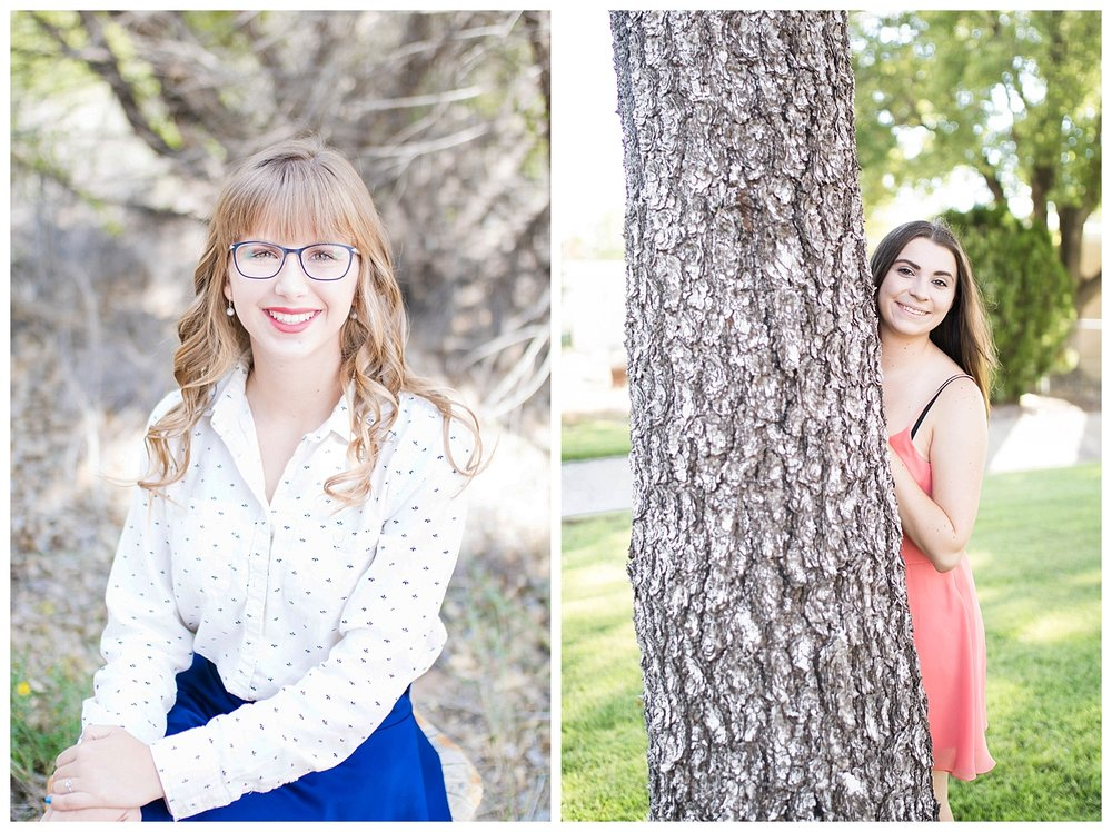 There were so many beautiful trees in the bosque and the park that added the perfect back drop and props.