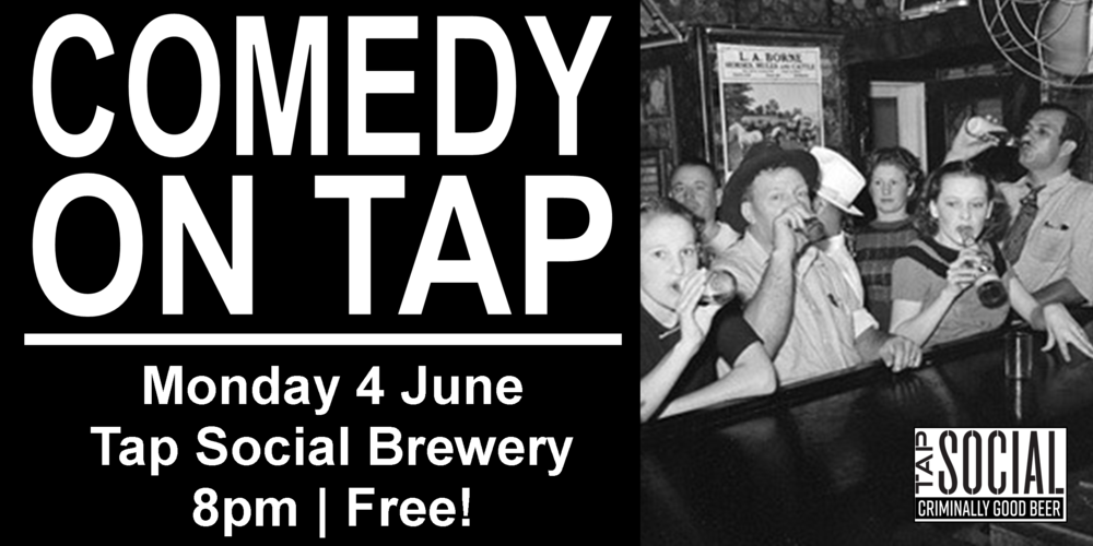 Comedy on Tap is a monthly stand-up show featuring some of the best comedians we could get to come to a brewery on a Monday night! Showcasing top local and national comedians, perfectly paired with Tap Social Movement's craft beer - and the best part is it's all free! (The comedy, not the beer.)  Headlined by the legendary Lorna Shaw Comedy who has TV and Radio credits include 'Plebs' ITV2, 'The Midnight Beast', E4, BBC Comedy Feeds 'Life Guru' and 'Newsjack' on BBC Radio 4 amongst others.   Lorna was a finalist in the Funny Women Awards 2012 and has performed sell-out shows to critical acclaim at the Edinburgh fringe with duo That Pair who's 2013 show transferred to the Soho Theatre in 2014.  As a solo act Lorna made her debut at the Edinburgh Fringe 2017 and was featured in Best Jokes of the Fringe at the Edinburgh Festival (Evening Standard).   Also featuring Jamie Allerton, Rebecca How, Joseph Emslie, and Kathryn Mather Comedy Hosted by Sarah Mann   Feel free to message us with any questions. See you Monday!