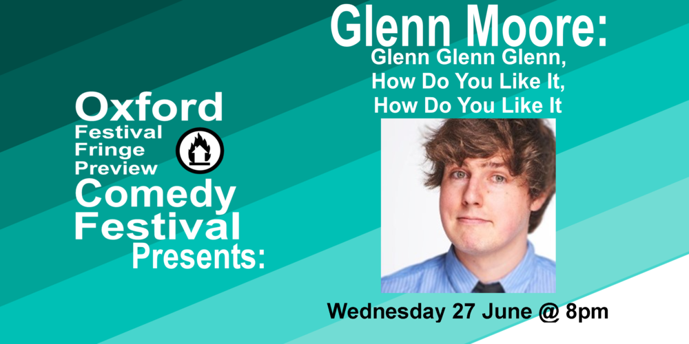 Glenn Moore from Mock the Week and Absolute Radio presents a new show full of the distinctive jokes and offbeat gags we've come to accept. This time, he's going somewhere nobody's been before so you might want to join him for the big send-off. 'Tipped for great things' (GQ). **** (List, Herald, Edinburgh Festivals Magazine).  Doors at 7:30/Show at 8pm  60 minutes   Get Your Ticets   Here