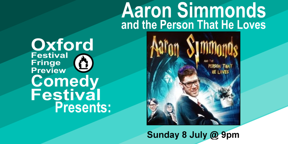 Join Jewish comedian of the year and wheelchair enthusiast Aaron Simmonds for his show all about love, sex and Harry Potter. BBC New Comedian finalist 2017.  Doors at 8:30/Show at 9pm  60 minutes   Oxford Festival Fringe Preview Comedy Festival  will take place from 21st June to 26th July at the Jam Factory. This month-long festival will see over 20 acts previewing their Edinburgh Fringe shows, and will feature acts from household favourite comedy shows like Have I Got News For You and Mock The Week as well as local up-and-comers.