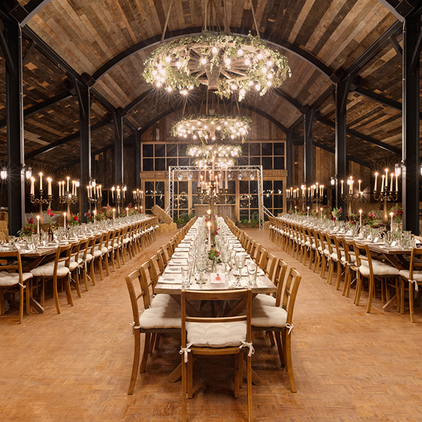 Soho Farmhouse   Soho Farmhouse is an amazing country house hotel set in the Cotswolds. The luxurious venue is part of the exclusive Soho House chain and oozes sophistication and elegance throughout. Whether you're planning a small intimate civil ceremony or a grand wedding, there is a variety of barns and a marquee to choose from come rain or shine.  Location: Oxfordshire, OX7 4JS   View Soho Farmhouse