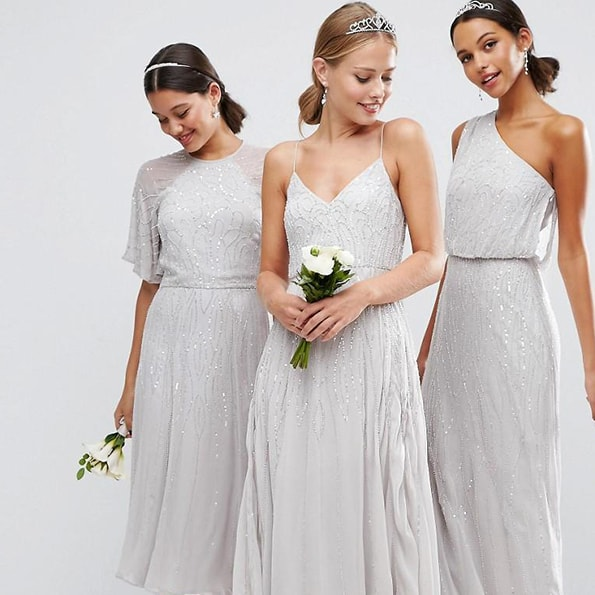 ASOS   Th clothing company have ventured into the wedding market, with a dedicated collection of bridesmaids dresses   View ASOS Bridesmaids