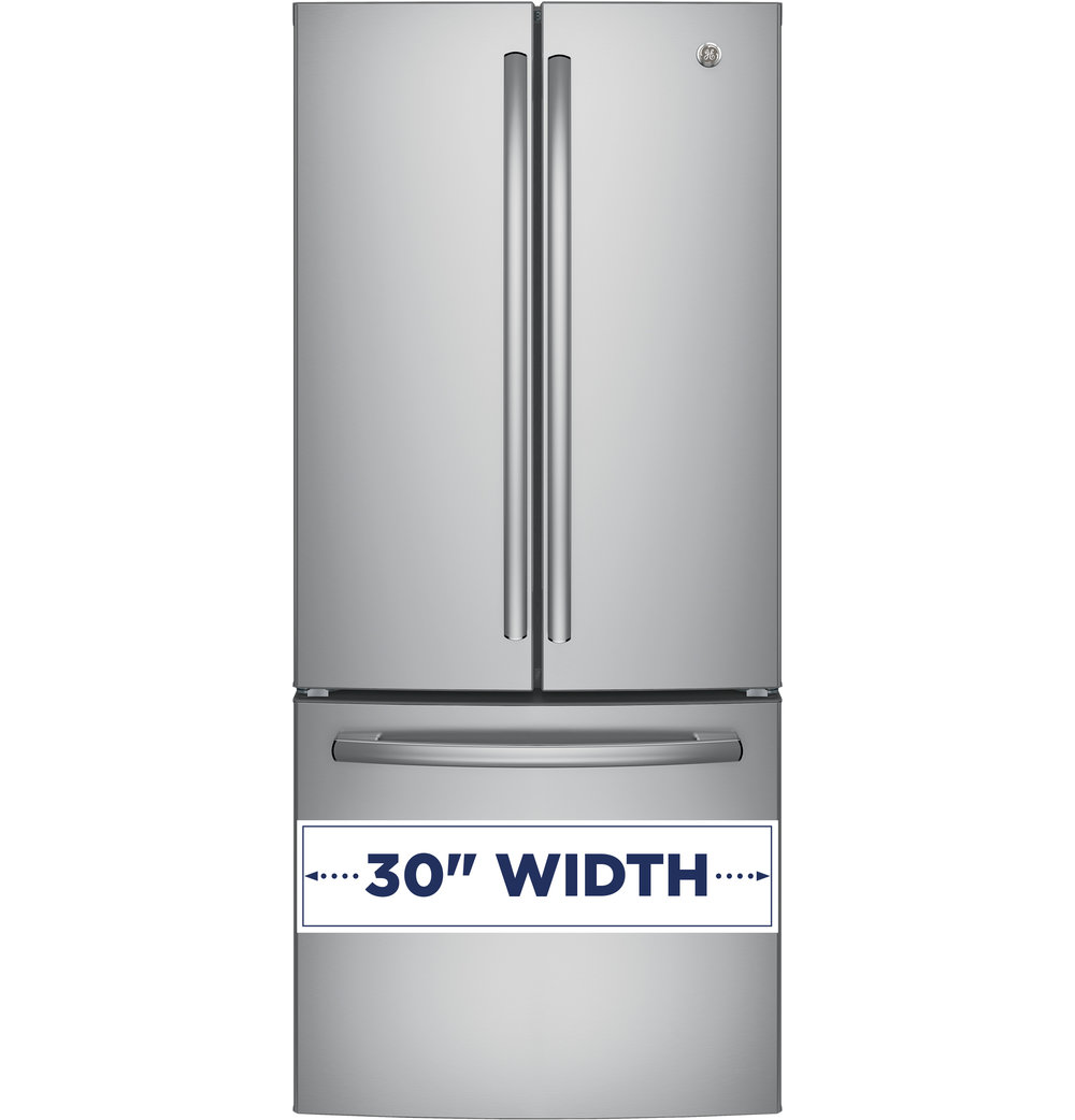 Exceptionnel GNE21FSKSS | GE®   ENERGY STAR® 20.8 Cu. Ft. French Door Refrigerator  (Stainless)