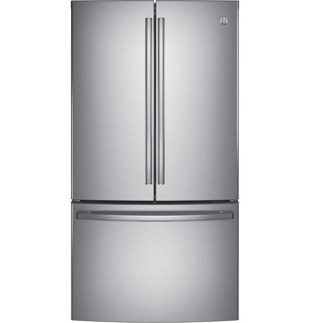 GNE29GSKSS | GE®   ENERGY STAR® 28.5 Cu. Ft. | French Door Refrigerator  (Stainless)