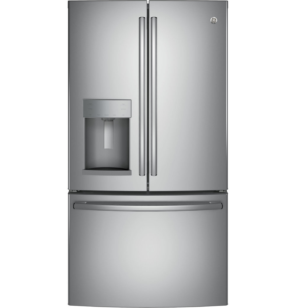 GFE28GSKSS | GE®   ENERGY STAR®(27.8 Cu. Ft. French Door Refrigerator  (Stainless)