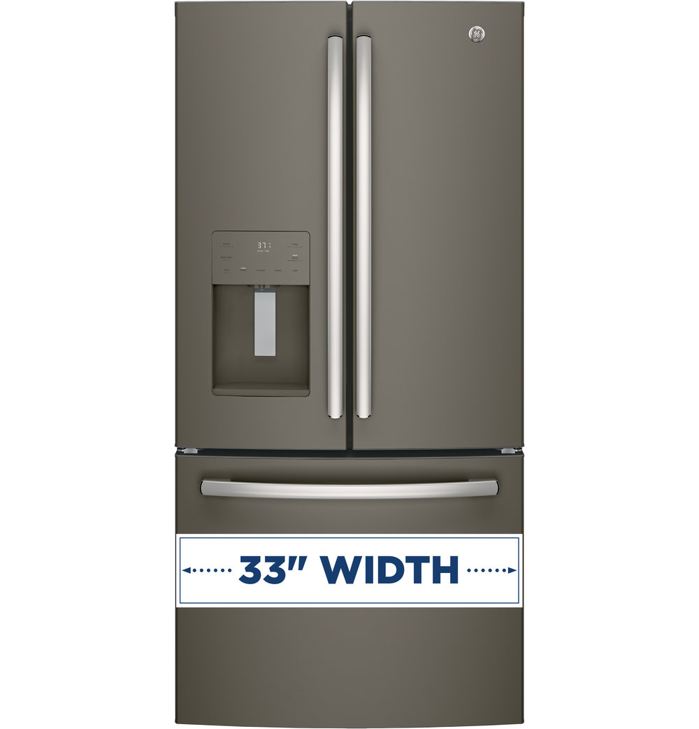 Attrayant GFE24JMKES | GE®   ENERGY STAR® 23.8 Cu. Ft. French Door Refrigerator  (Slate)