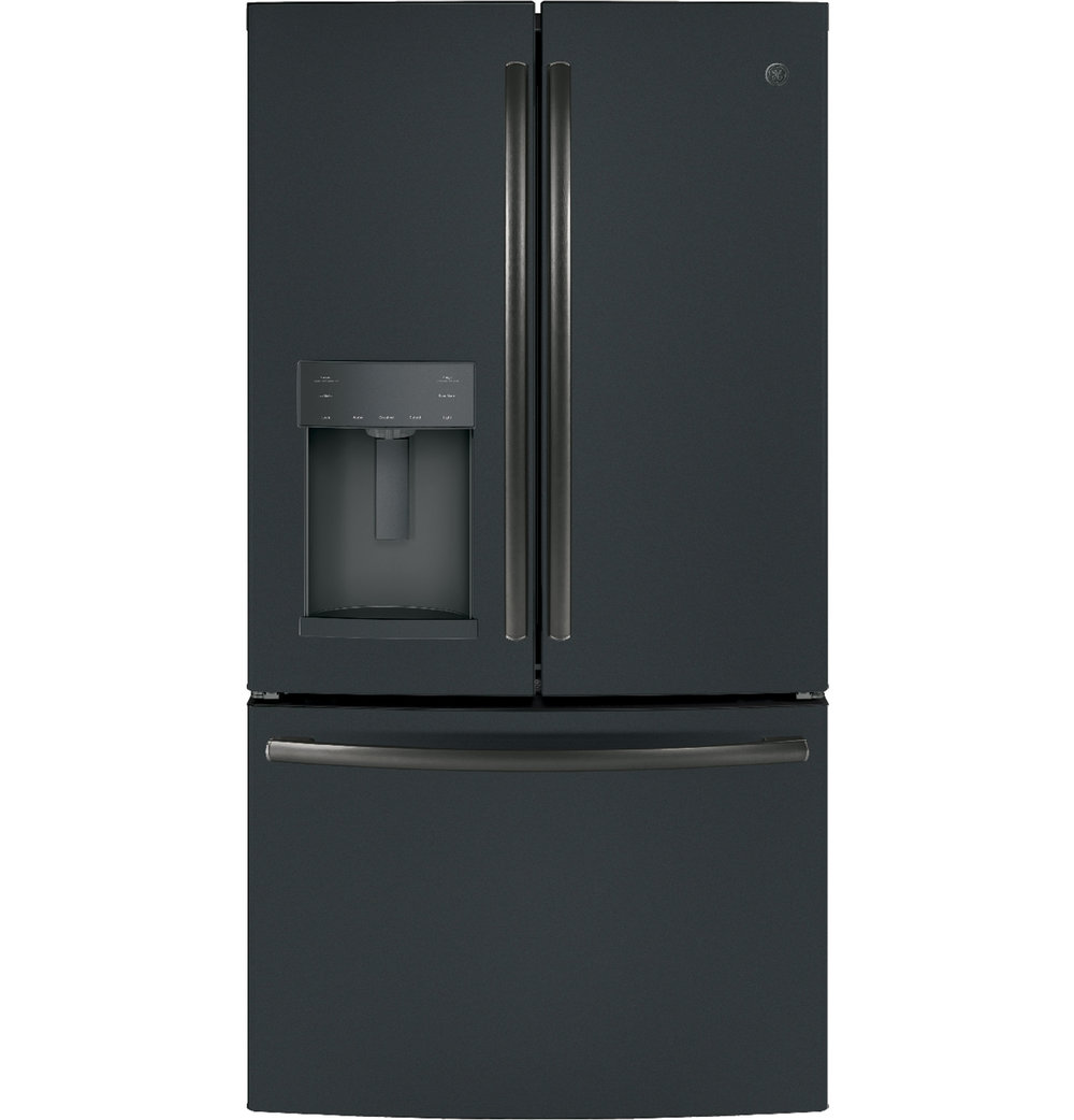 Bon Ft. French Door Refrigerator With Door In Door (Black Slate)