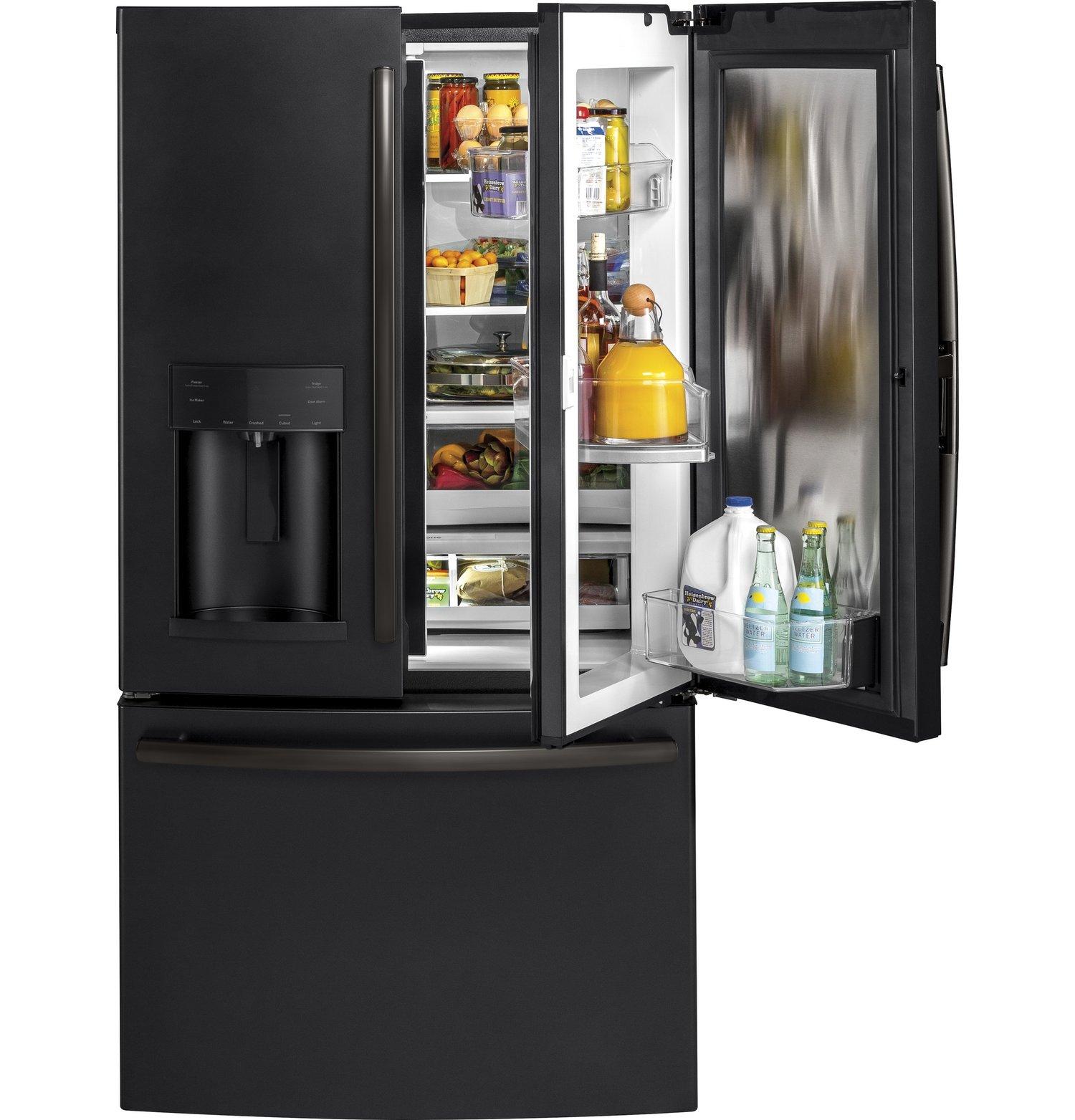 Gfd28gelds Ge 278 Cu Ft French Door Refrigerator With Door