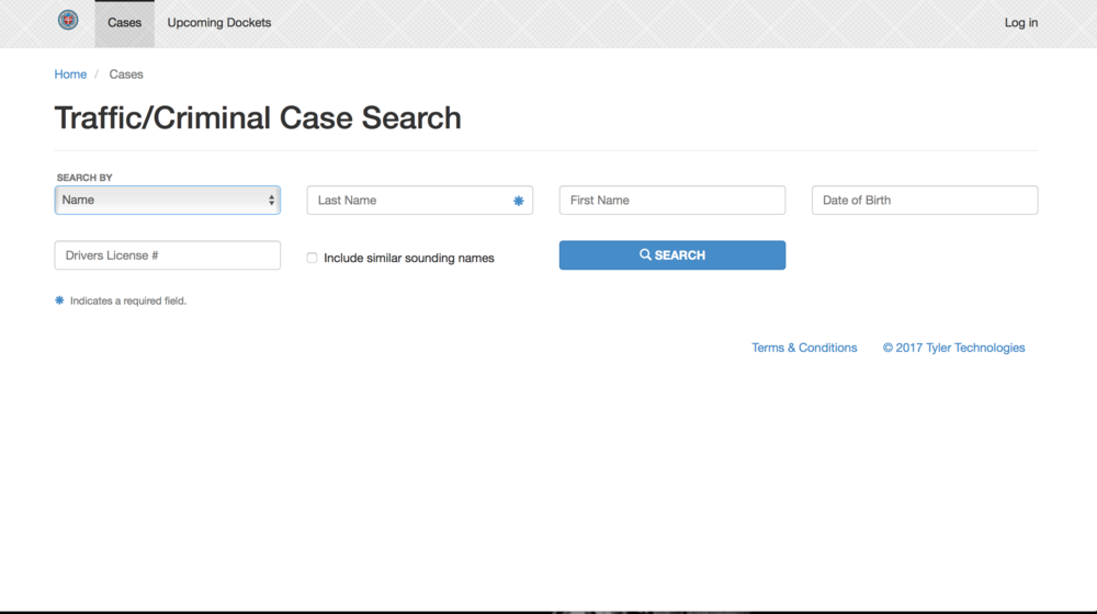 OKC MUNICIPAL    Oklahoma City has their municipal court records online where the public can easily access your charges. Click on the image to run your name through OKC's system.