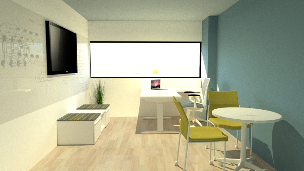 Render of my office