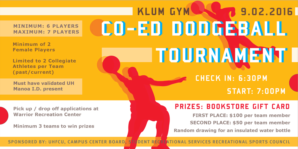 Co-Ed Dodgeball Tournament