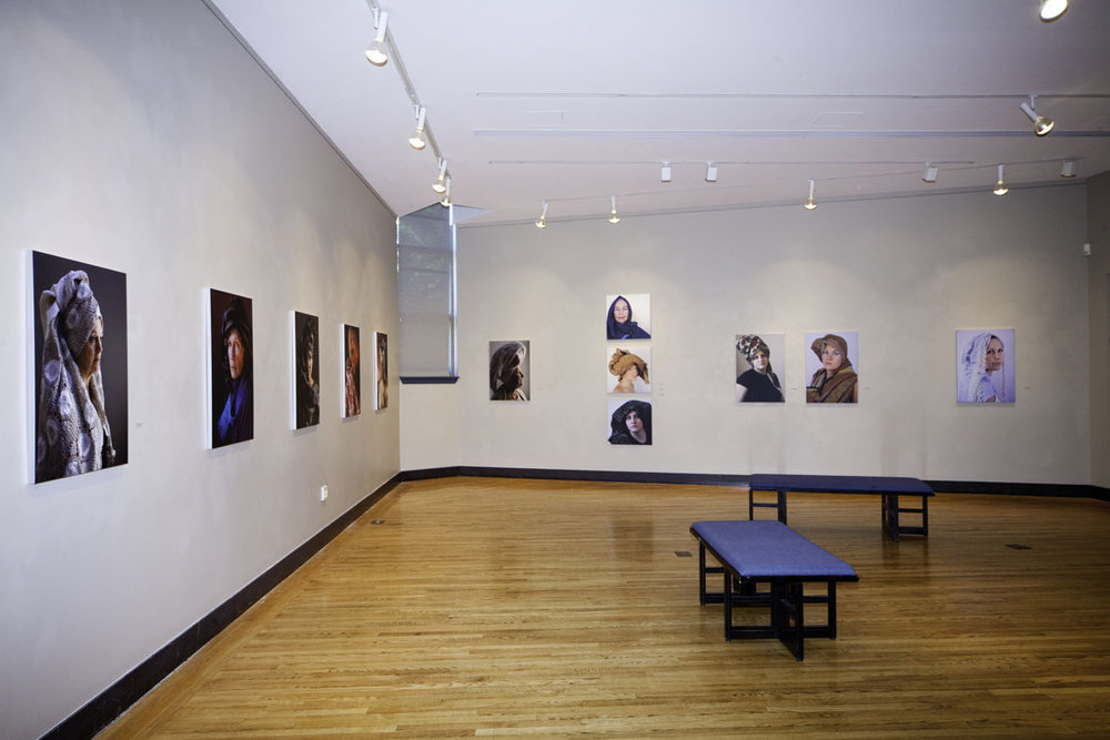 Installation View, Carney Gallery, Regis College