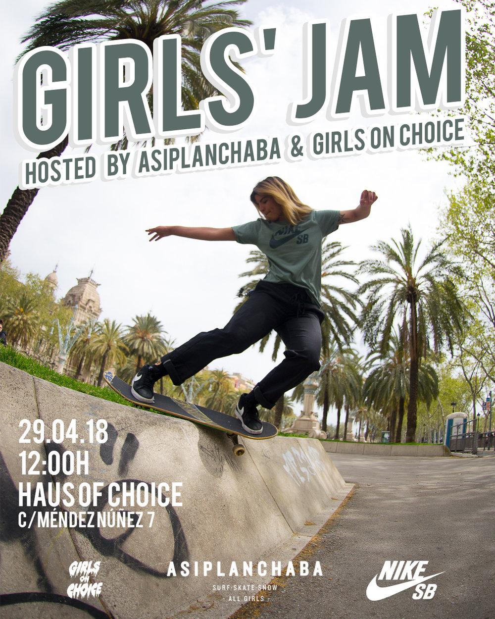 GIRLS JAM 29.04 - Vein Magazine
