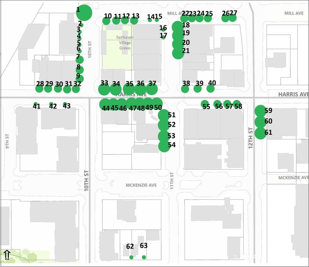 Tree Lighting Map | Fairhaven Winterfest  sc 1 st  Fairhaven Winterfest & Sponsors u2022 Fairhaven Winterfest u2022 Bellingham WA