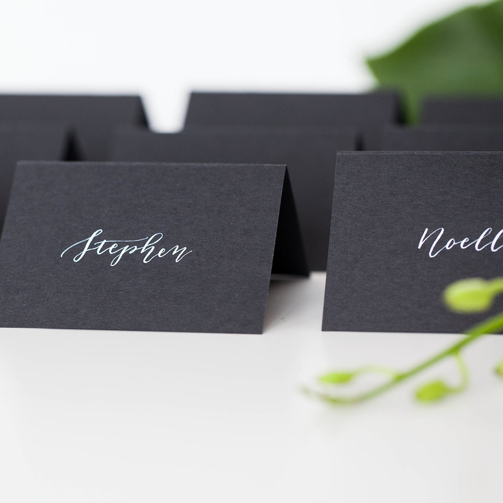 day of pieces for weddings place cards table numbers menus