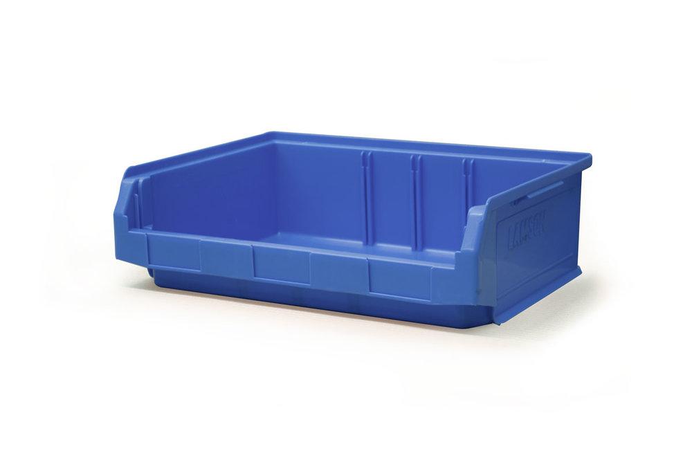Copy of Size 3Z Blue Plastic Bin