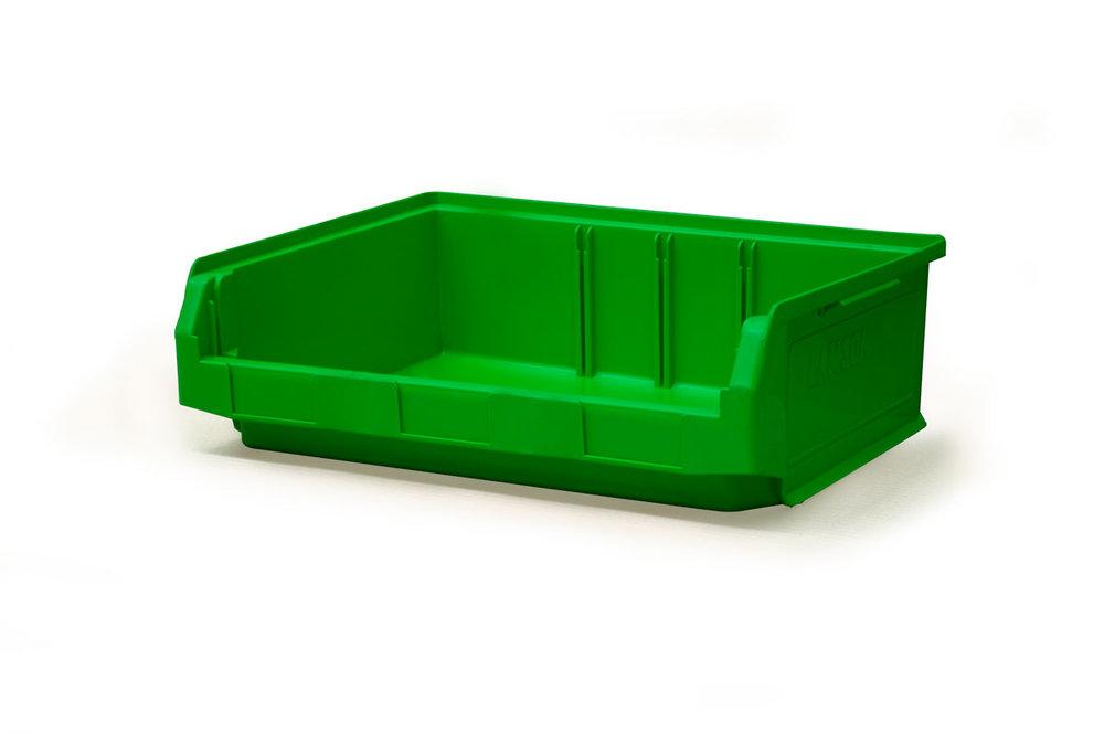 Copy of Size 3Z Green Plastic Bin