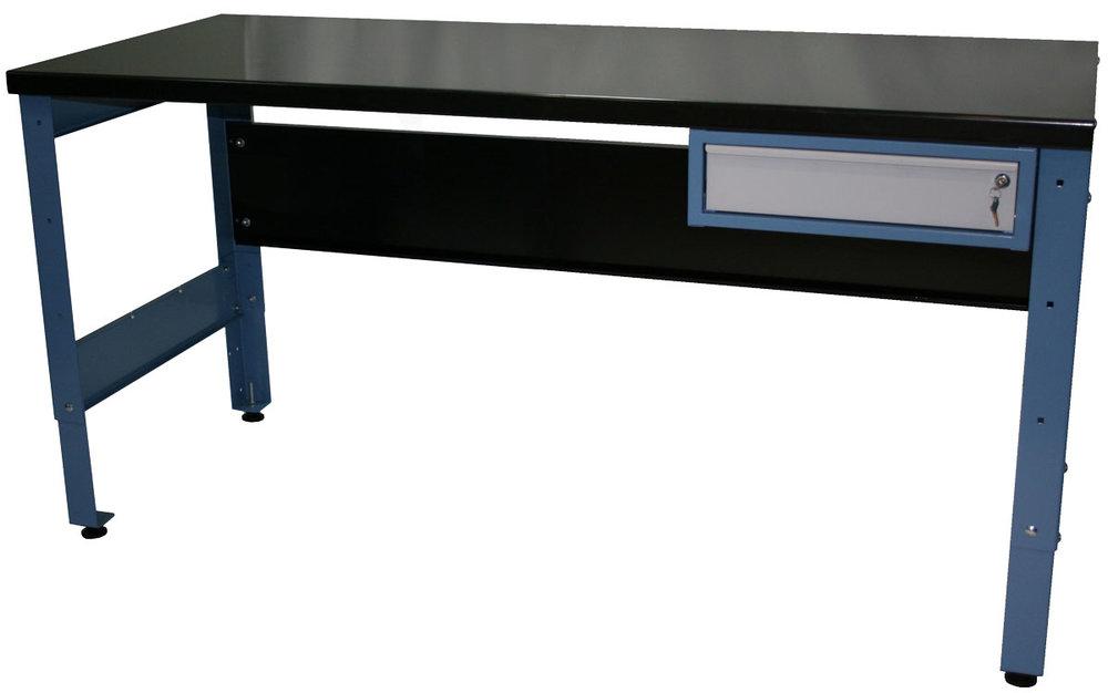 heavy duty workbench with draw -