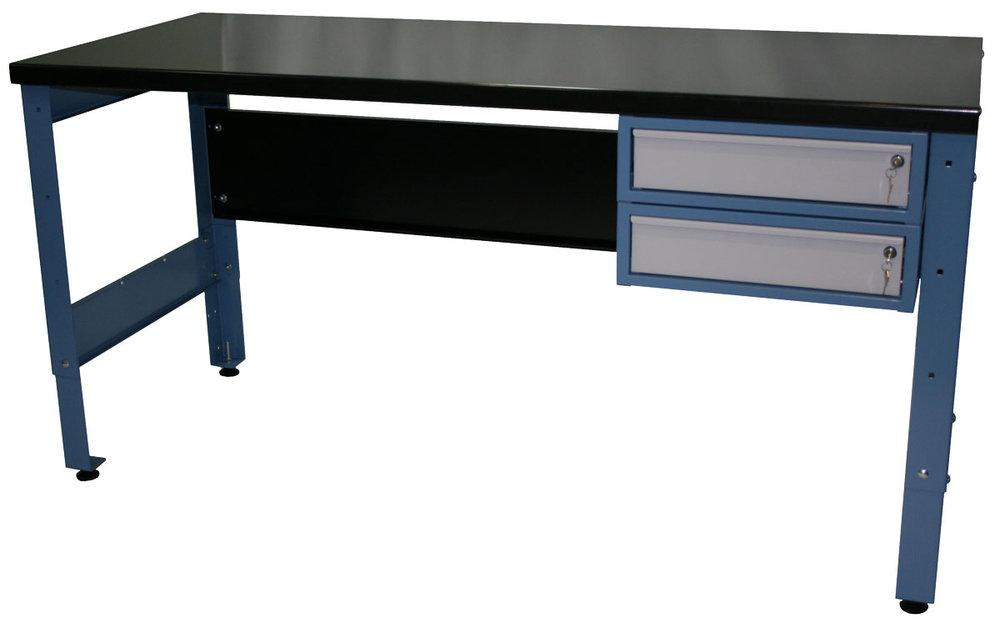 heavy duty workbench with2 draws -