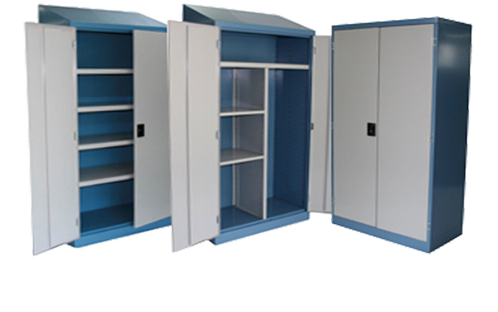 Heavy duty cupboards -