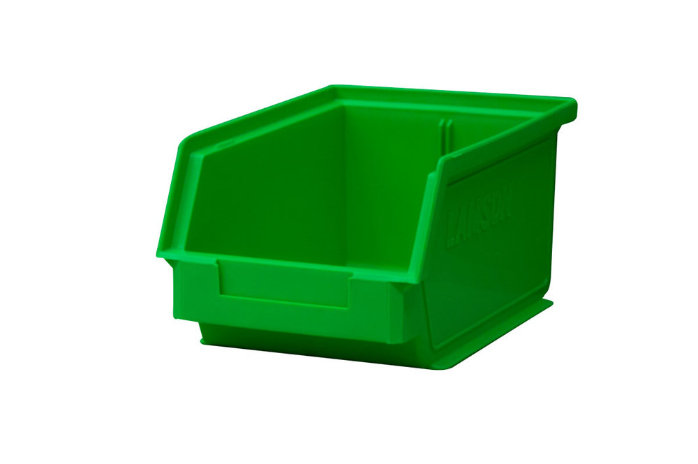 size 4 plastic bins - 125mm x 150mm x 230mm