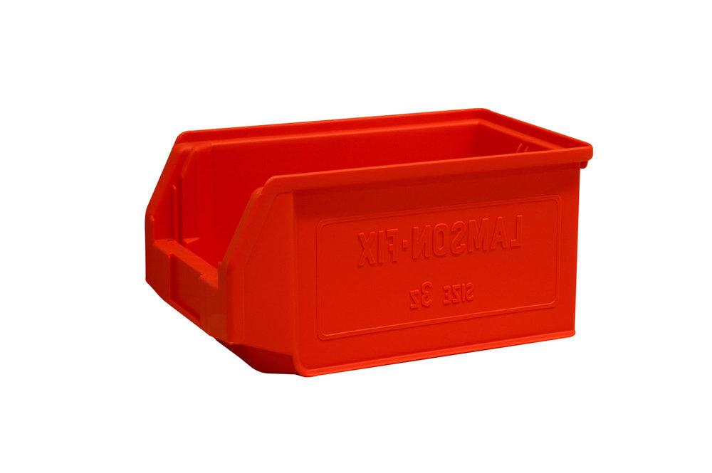 Size 3z plastic bins - 150mm x 210mm x 350mm