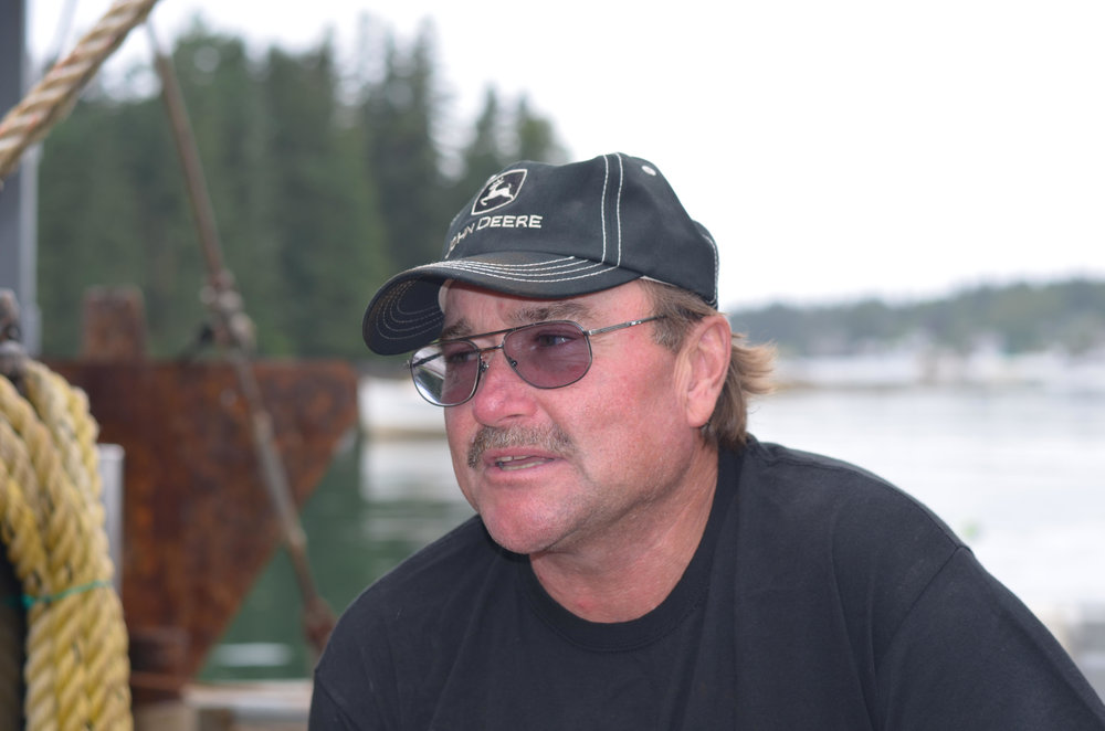 Randy Cushman has been fishing the waters off Port Clyde, St. George for 35 years. Working with the Nature Conservancy, he's been key to developing and field testing nets and electronic monitoring systems to assist in the resurgence of ground fishing in the Gulf of Maine.