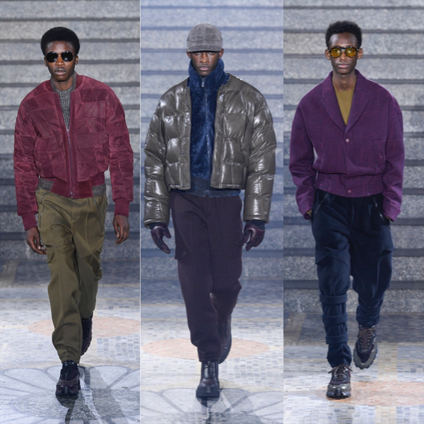 MENS FASHION WEEK   Top 5 menswear trends to look out for.