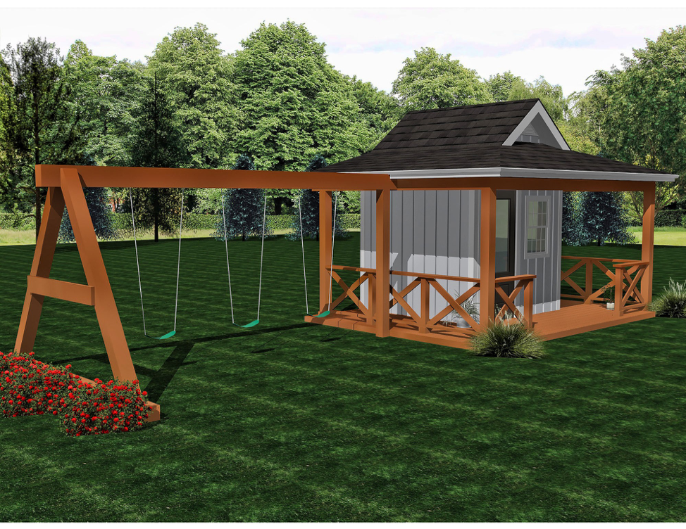 Bayou  Buildable Plans - $600  Playhouse Build - $9200
