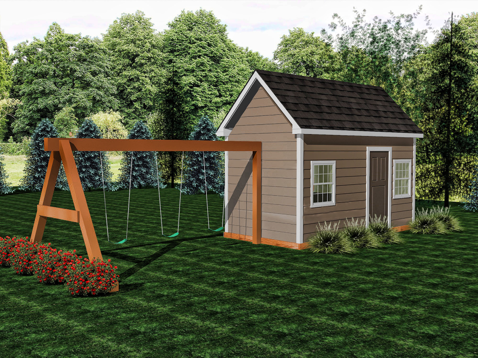 Bungalow  Buildable Plans - $600  Playhouse Build - $9500