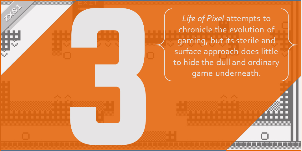 Life of Pixel and The Dilution of Gaming History — KRITIQAL