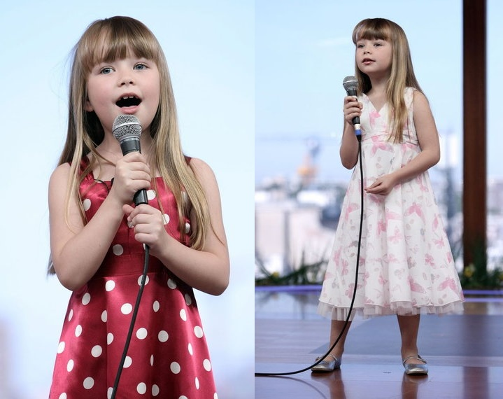 Poland. - Connie appeared on the Dzien Dobry program on TVN in Warsaw, Poland. She performs Three Little Birds and I Will Always Love You. / 2008