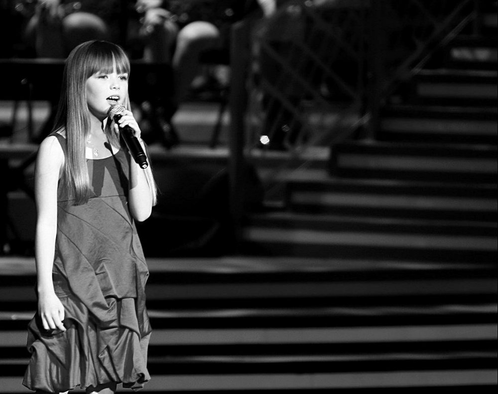 BTV Global Spring Festival Gala / China - Connie Talbot performs on the stage during BTV Global Spring Festival Gala recording on January 11, 2011 in Beijing, China.