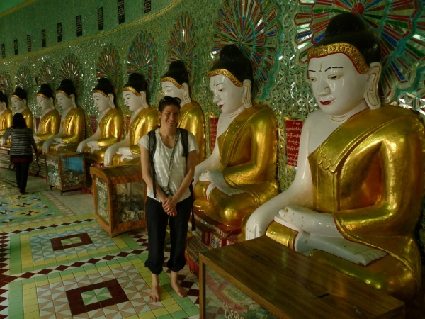 Finding her bliss on a meditation retreat in Burma