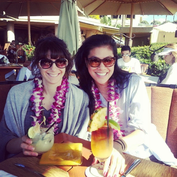 On the self-care vacation of our dreams in Maui, 2014