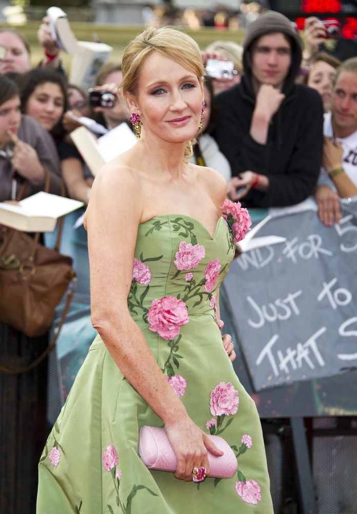 Author and philanthropist, JK Rowling