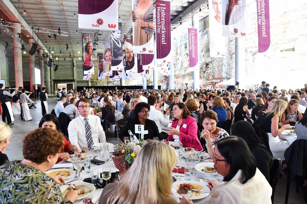 Westpac   International Women's Day Lunch    Click here for gallery